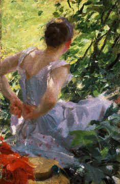 Anders Leonard Zorn - Im Wald - kaum bekannter Künstler mit exzellenten Bildern.