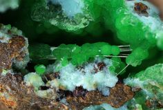 Conichalcite, Aragonite