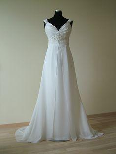 31376104c3c Plus Size Wedding gown Greek Goddess dress by RealSizeBride