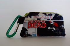 Mouthguard Case, Mouthguard Holder, Retainer case, Walking Dead, Zombies, Braces, contact sports by HungryRhinoStudios on Etsy