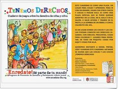 """Para celebrar el Día de los Derechos del Niño, 20 de noviembre, este excelente cuaderno, """"Tenemos Derechos"""", nos proporciona la oportunidad de poder trabajarlo en el aula."""