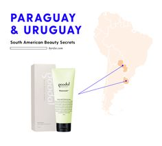 Women in Paraguay and Uruguay use Goodal Yerba Mate Cleansing Foam to get healthy, glowing skin