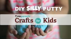 Two Ingredient Silly Putty | Crafts for Kids | PBS Parents