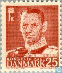 Denmark - King Frederick IX 1950