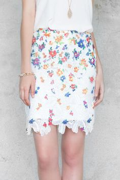 This would be cute for a nice spring Sunday