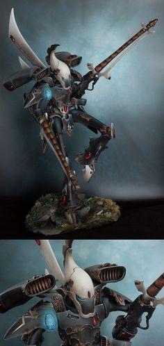 40k - Eldar Revenant Titan of Ulthwé by Razyel