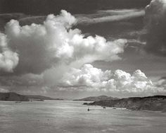 San Francisco Bay Before the Golden Gate, by Ansel Adams