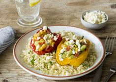 Succotash is a staple of Southern cuisine, and for good reason: it celebrates the variety of Summer's delicious bounty. Corn, lima beans, and tomatoes are at their peak right now, and we can think of no better way to enjoy them than with these stuffed peppers.