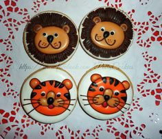 tiger and lion | Cookie Connection