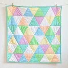 """Babydecken - Babyquilt """"Candy"""" - Babydecke - ein Designerstück von FRIEKE-handmade bei DaWanda"""