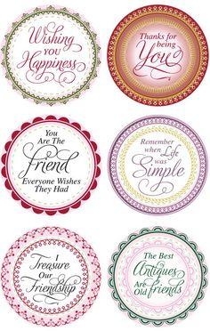 Labels and tags...via Grandma's Doilies JB10010...murdocks.typepad.com/  polished to perfection/nestabilities