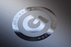 This is an elegant psd silver foil effect to showcase your latest logo or branding design. Easily drag and drop your...