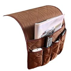 PUTING Sofa Couch Armrest Cover Double Sided Waterproof Armrest Organizer, Fits for Phone, Book, Magazines, TV Remote Control Remote Control Organizer, Remote Caddy, Remote Control Holder, Tv Remote Controls, Shoe Rack On Wheels, Couch Tray, Bedside Pocket, Bedside Caddy, Home Office Storage