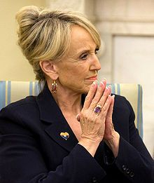 Jan Brewer 22nd Governor of Arizona.  Standing up for what is right in her state.