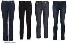 winter capsule wardrobe: dark wash jeans basics | 40plusstyle.com