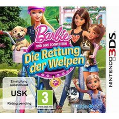 Barbie und ihre Schwestern: Die Rettung der Welpen  3DS in Adventure, Spiele und Games in Online Shop http://Spiel.Zone