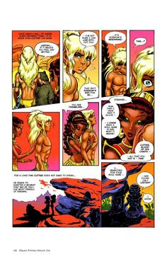 ElfQuest because it's ElfQuest! I feel in love with them long ago. Patrick learned to read off the Graphic Novels. The images were always just as moving as the story.