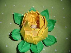 DIY Origami: DIY Origami Lotus Flower