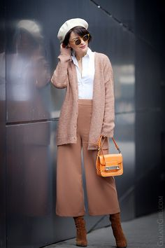 wool+beret+outfit-for-spring
