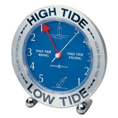Tide clock.