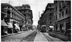 Emad el Din Street in Downtown Cairo Old Egypt, Cairo Egypt, Ancient Egypt, Tahrir Square, Fly On The Wall, Military Coup, In Ancient Times, Countries Of The World, Vintage Pictures