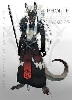 【PFFK】Pixiv Fantaisy Fallen Kings /  Forte 【Gol Veil】 by Higanbana   / http://www.pixiv.net/member_illust.php?mode=medium&illust_id=41969523