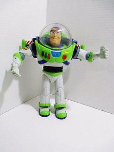 Disney Pixar Toy Story Buzz Lightyear Electronic Action Figure Talks is Poseable #Disney..... Visit all of our online locations..... www.stores.eBay.com/variety-on-a-budget ..... www.amazon.com/shops/Variety-on-a-Budget ..... www.etsy.com/shop/VarietyonaBudget ..... www.bonanza.com/booths/VarietyonaBudget ..... www.facebook.com/VarietyonaBudgetOnlineShopping