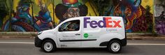 FedEx Express delivery vehicle