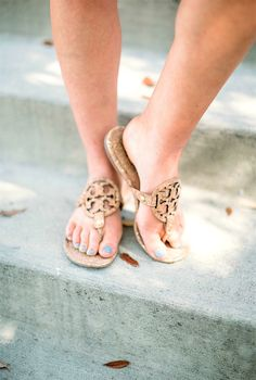 tory burch cork sandals