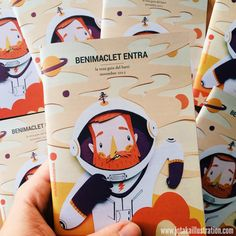 """Cover for the cultural guide """"Benimaclet Entra""""Valencia. November 2015."""