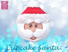 The #cutest #christmas #character you'll see this upcoming #season ! See our new #moulds at www.karendaviescakes.co.uk #santa #rudolph #penguin #snowman #cute #easy #food #cake #cakedecorating #cupcakes