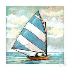 Sailboats I Canvas Art – Gregory Gorham x Sailboat Art, Sailboat Painting, Sailboats, Sailboat Drawing, Frida Art, Beach Art, Painting Inspiration, Art Pictures, Painted Rocks