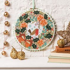 Durene Jones' sumptuous wreath from issue 222 is perfect for the winter holidays!