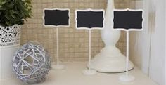 10 x chalk boards complete with stands. by HappilyEverVintage
