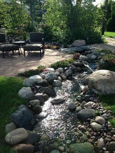 Strategy, secrets, as well as overview in pursuance of acquiring the very best result as well as attaining the max usage of Mulch Landscaping Backyard Stream, Garden Stream, Backyard Water Feature, Ponds Backyard, Garden Path, Backyard Ideas, Pond Design, Landscape Design, Landscape Plans