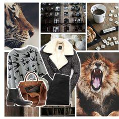 """roar"" by myduza-and-koteczka on Polyvore"