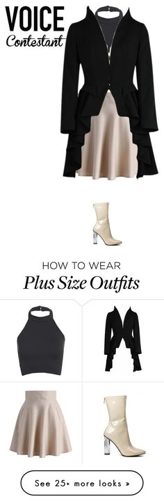 """""""Untitled #152"""" by mybears on Polyvore featuring Chicwish, thevoice and YahooView"""