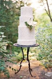 magnolia cake   Jose Villa #wedding