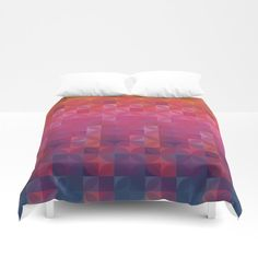 Refresh Design added a new photo. Duvet Covers, Comforters, Throw Pillows, Blanket, Bed, Design, Creature Comforts, Quilts, Toss Pillows