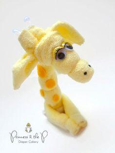 Washcloth Giraffe: