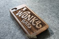 WALNUT iphone 5c case wood iphone 5c case wonka bar by WoodBliss, $23.00