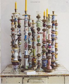 I love these candlesticks!!!