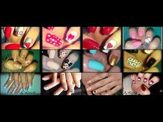 12 Valentine Nail Design Compilation Video(Nailed It)