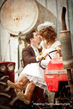 A real country wedding.   http://www.makingthemoment.com/blog/2011/down-on-the-farm#
