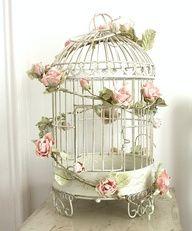 Rose and Birdcage  Vintage Wedding Inspiration