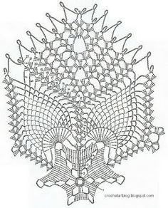 Crochet Art: Free Crochet Doily Pattern - TableCloth
