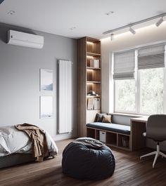 Hotel Bedroom Design, Bedroom False Ceiling Design, Teen Bedroom Designs, Bedroom Closet Design, Home Room Design, Kids Room Design, Home Office Design, Home Bedroom, Diy Bedroom Decor For Teens