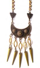 Boho Gal - Jai Crescent Necklace