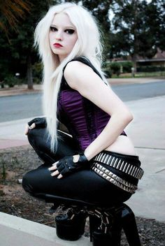 #goth #punk #fashion