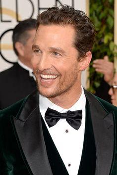 Los hotties de los Golden Globes: MATTHEW MCCONAUGHEY